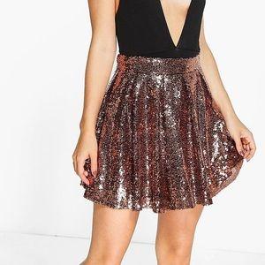 Boohoo | Sequin Mini Skirt